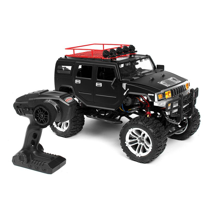 New HG P403 RC Car 1/10 2.4G 4WD 20km/h Black Color Rc Car Rock Crawler Off-road Truck RTR 40A electronic stepless 2-in-1 ESC