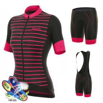 Camisa de ciclismo 2019 Aleing Mujer Ropa ciclismo Mtb Mulheres Roupas de Ciclismo Kit Ciclismo Maillot ciclismo Manga Curta Ciclismo Conjunto