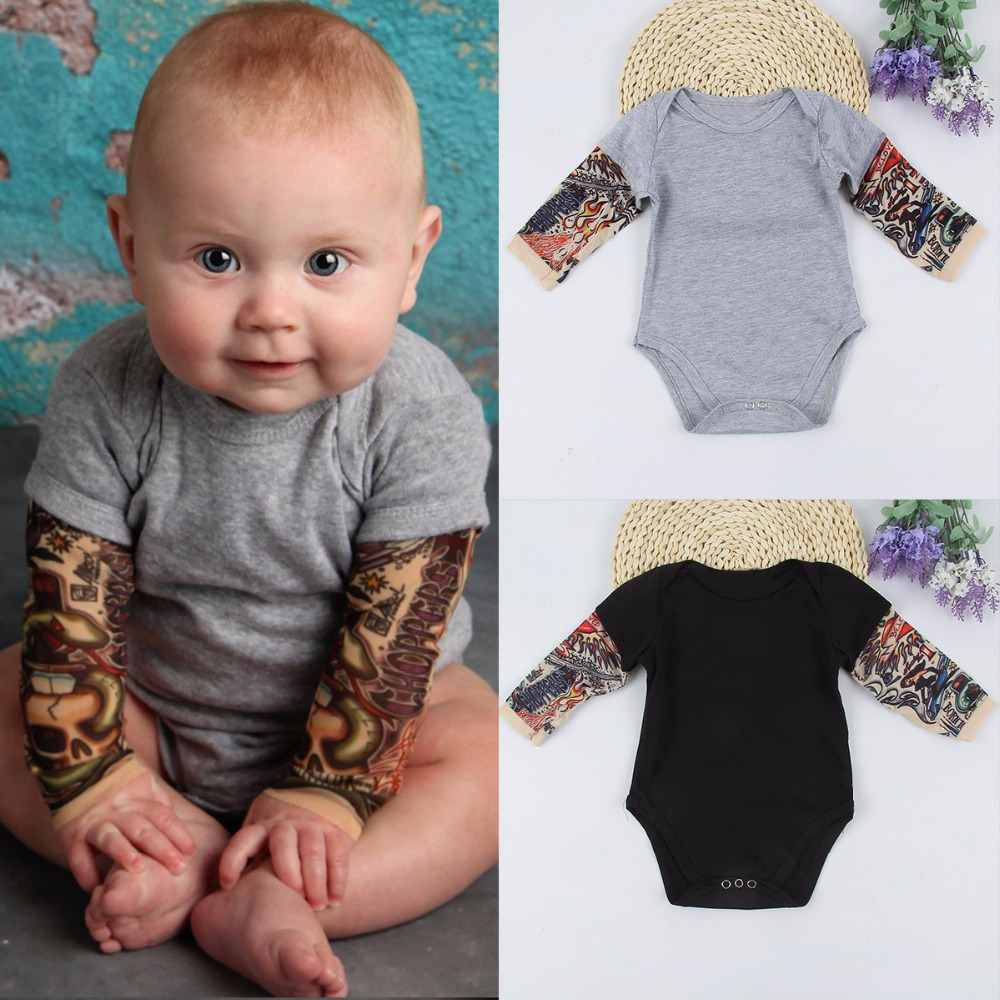 Infant Baby Girl Boy Keep Calm and Rock On OutfitRomper Jumpsuit Short Sleeve Bodysuit Tops Clothes