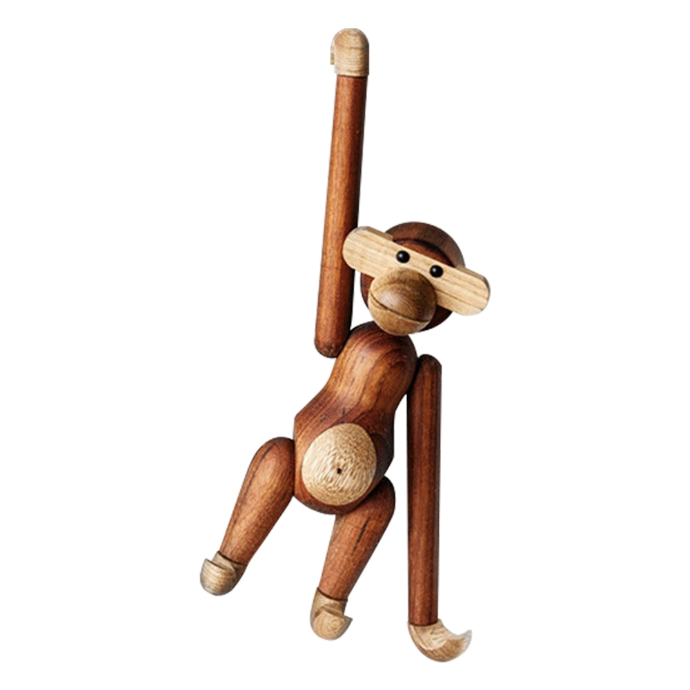 Wooden Monkey Canine Residence Decor Hanging Arctic Monkeys Wood Toys Joints Movable Birthday Items Stable Wooden Diy Crafts Ornament Collectible figurines & Miniatures, Low cost Collectible figurines & Miniatures,...