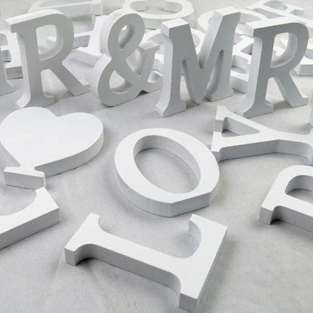 DIY Home Decor Wooden Letters Alphabet Word Bridal Wedding Party Home Decor  Nautical Decor Supplies Ornaments Wholesale#0118 3
