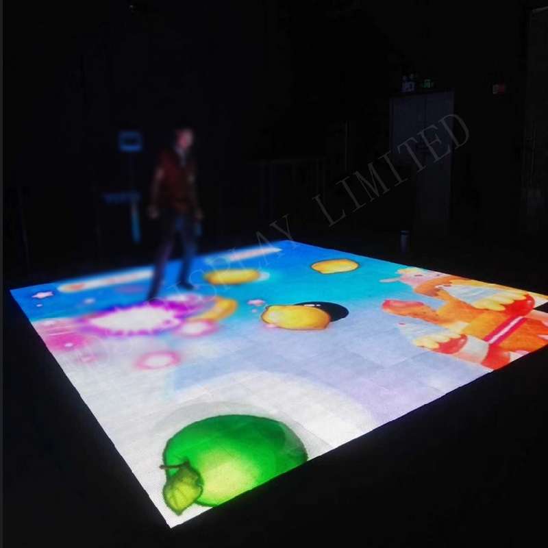 P6.25 Indoor And Outdoor RGB Smd Led Dance Floor Panel High Protection Level Led Video Dance Floor For Disco Wedding Bar Party