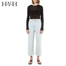 HYH Haoyihui women Sweaters  Autumn Winter Long Sleeve tops Femme Pull Solid Female Casual Knitted sexy Pullovers
