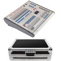 Nova chegada Pérola 1024 Controlador com embalagem flycase Stage luz DMX console para XLR-3 par levou feixe de mover a cabeça DJ luz