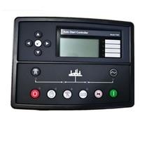 Generador controlador automático DSE7320, panel DSE 7320 ATS, pantalla lcd remota eléctrica, pieza genset