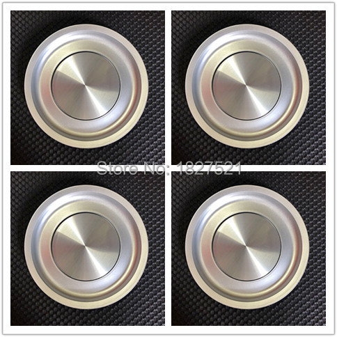 4pcs Chrome Silver Emblem Badge Logo 155mm Wheel Center <font><b>Caps</b></font> Hub Cover 1J0 601 149 B 1J0601149B Fit More image