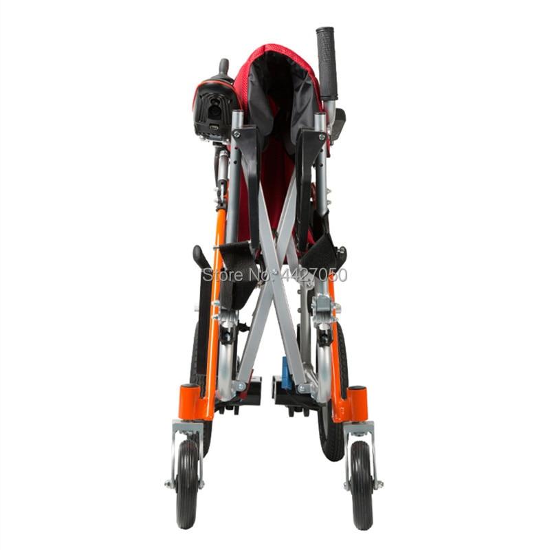 Lithium battery smart lightweight folding electric wheelchair net weight 13kg