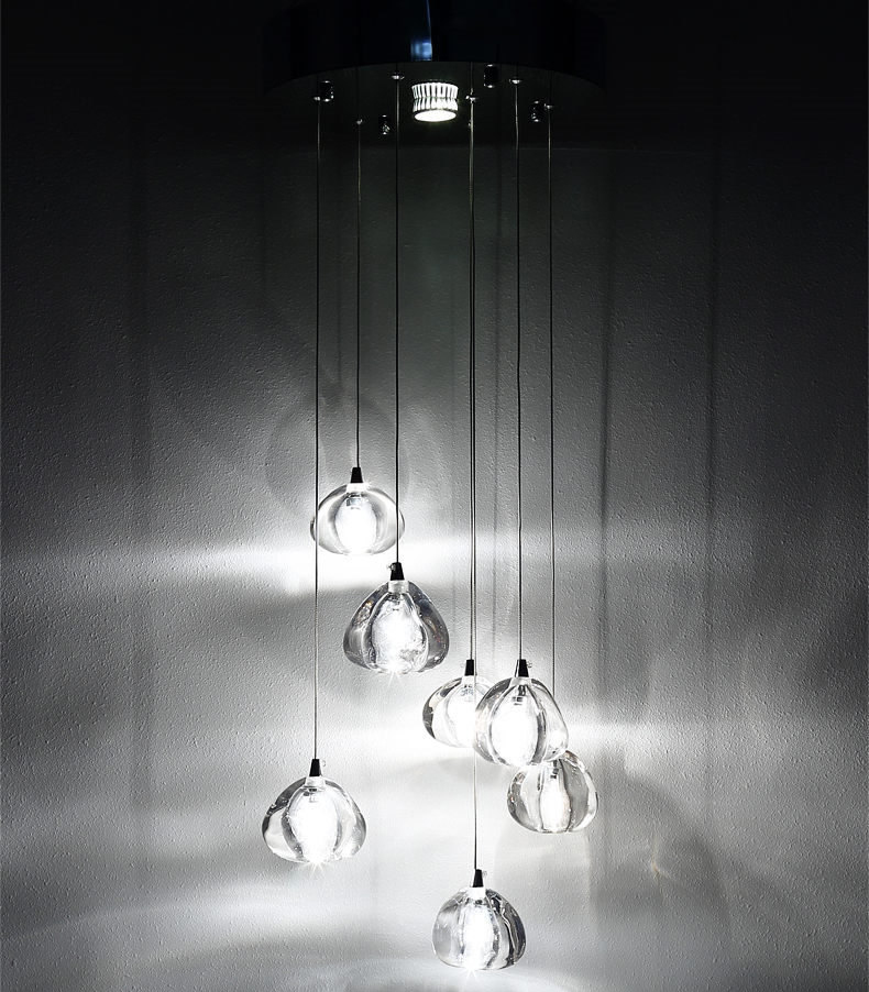 chuva de meteoros lampada cristal 01