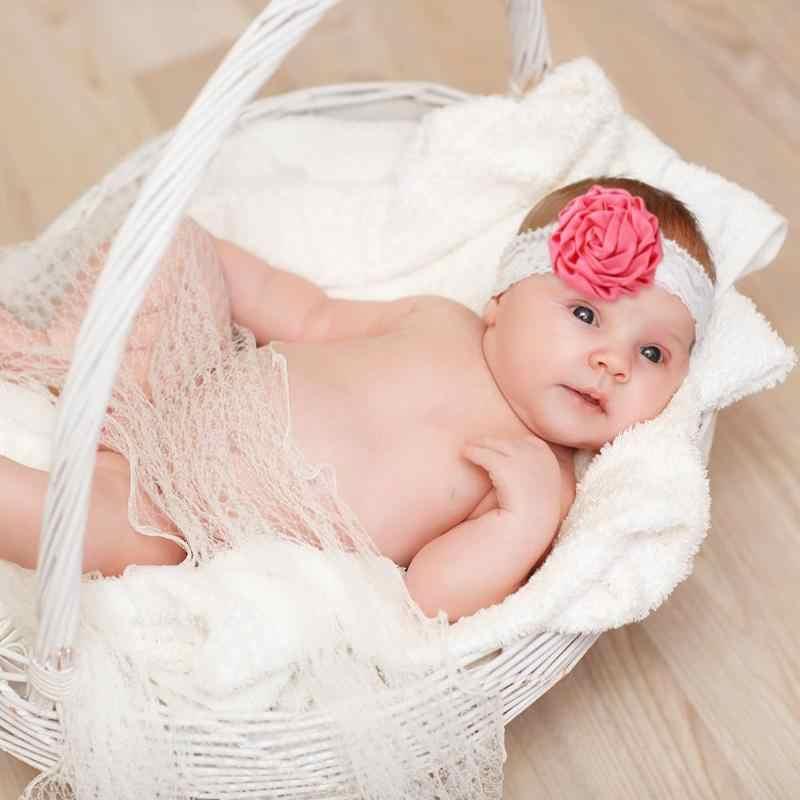 แถบคาดศีรษะ Big Rose ดอกไม้ Headbands ทารกแรกเกิด Party Elastic Hairband เด็กอุปกรณ์เสริมผม 2019 ใหม่เด็กทารกแรกเกิด