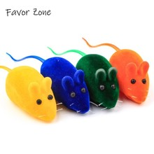 Hot Sale Cat Catching Toy High Simulated False Mouse Squeak Sound Toys Kitten Funny Playing Interactive Goods For Pets