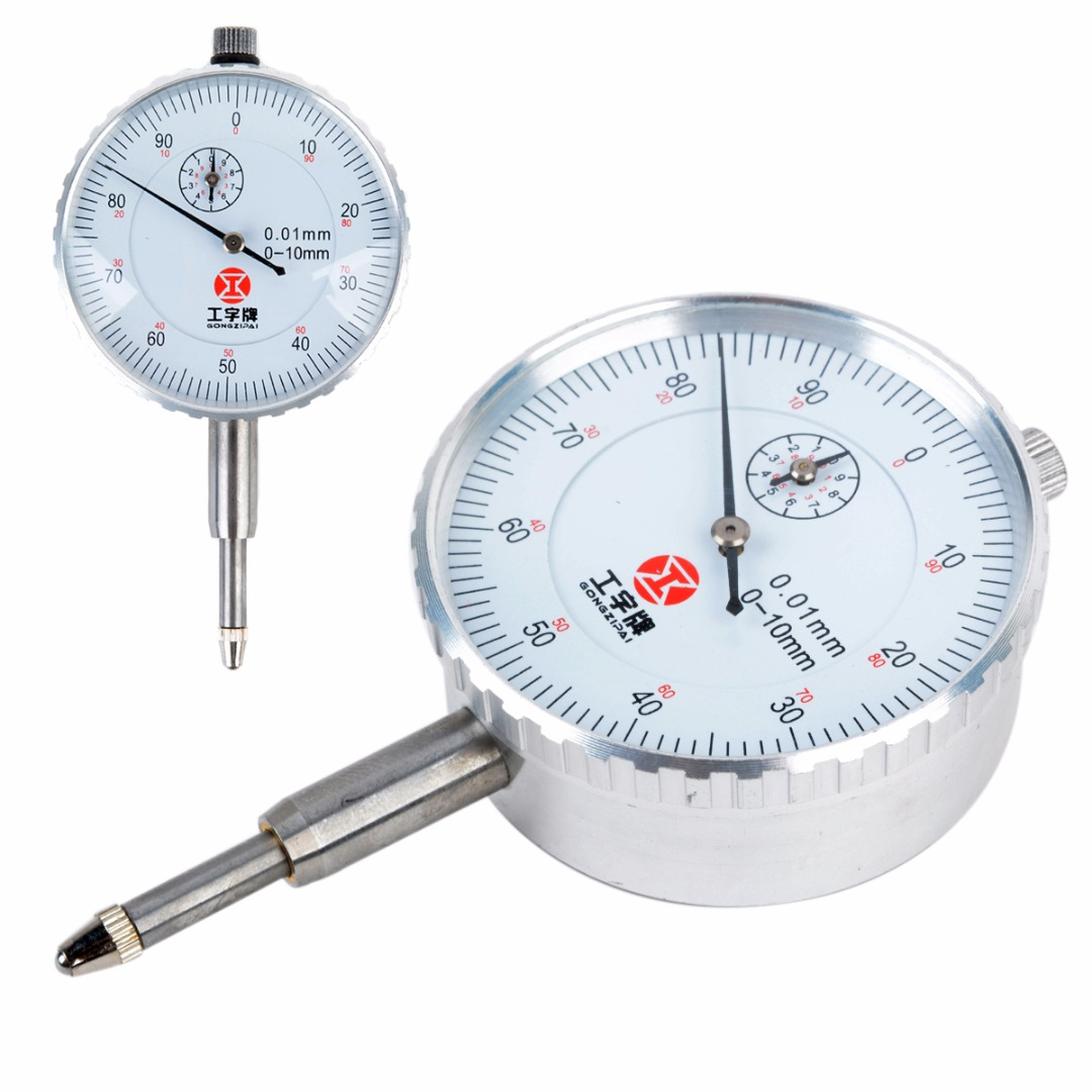 1pc 0-10mm Precision Round Dial Test Indicator Gauge Mayitr Measuring Instrument Tool