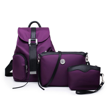 Fashion Backpack Woman Bag Waterproof Crossbody Shoulder Bags Mini Handbag Clutch Anti Theft Bag Pack School Bag For Girls Black