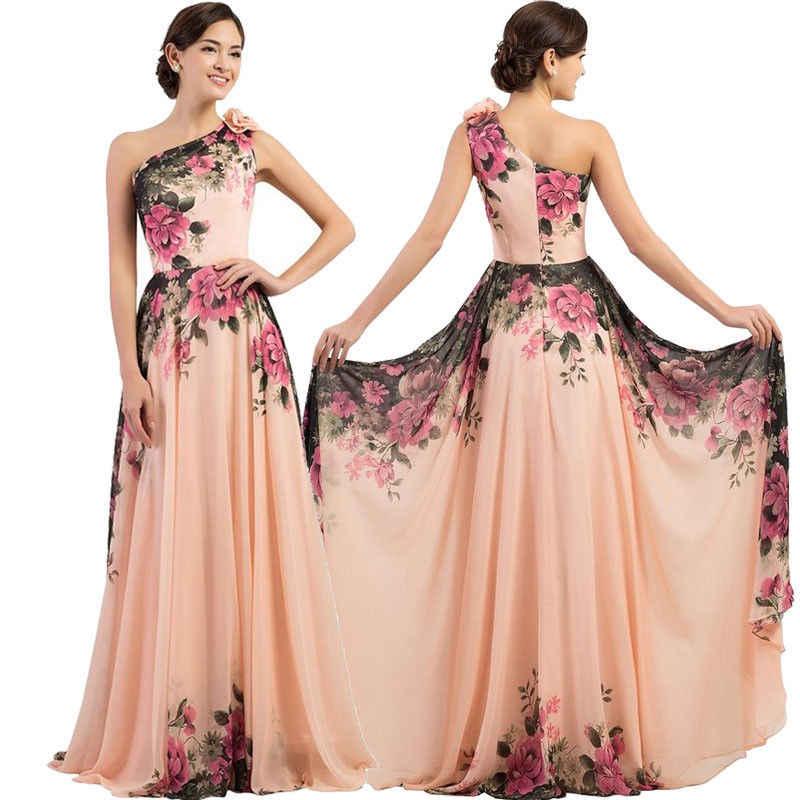 Moda Mujer Vestido Largo Señoras Fiesta Noche Formal Boda Vestido De Fiesta Elegante Vestido Formal