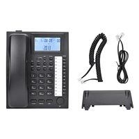 wall hanging and flat desktop Telephone Extension Display Caller ID Home Phone FSK/DTMF automatic detection is compatible