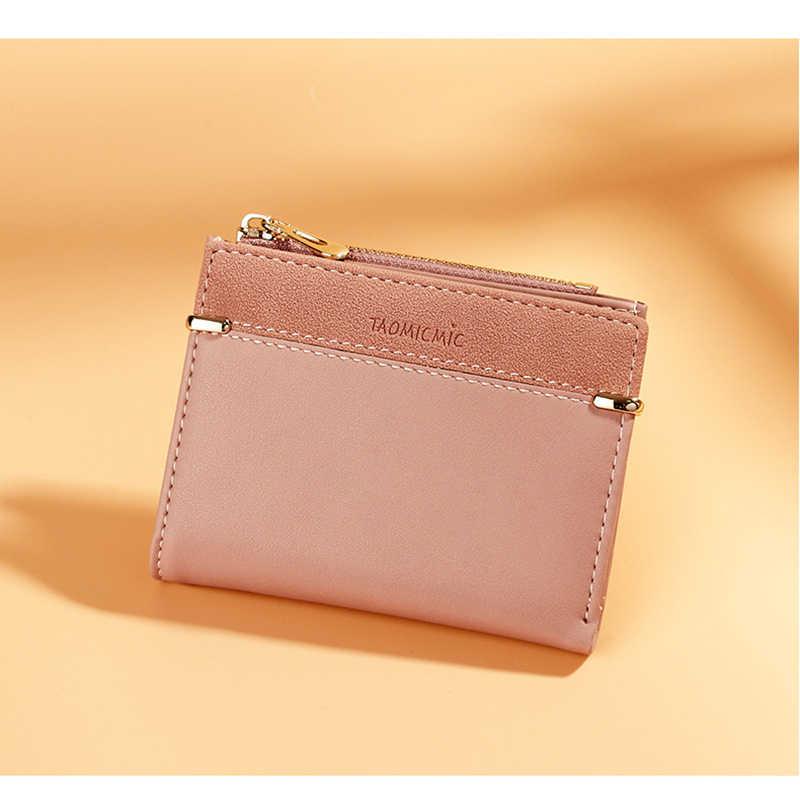 女性の財布ショート女性コインための財布ファッション財布女性カードホルダー小さな女性財布女性掛け金ミニクラッチのための