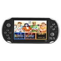 X12 5.1 inch Handheld Game Video Player Game Consoles with Double Rocker Built in 2500 Games Support TF Card for Home Game Play