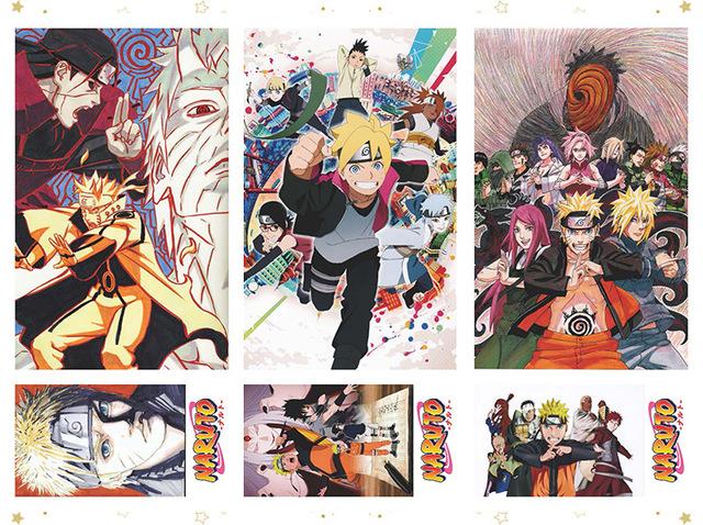 Naruto Postcard Gift Set