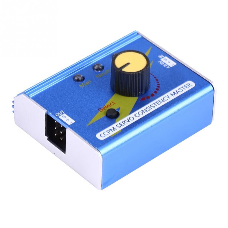Power 3CH ESC Servo Tester Checker Tester CCPM Consistency Master G.T