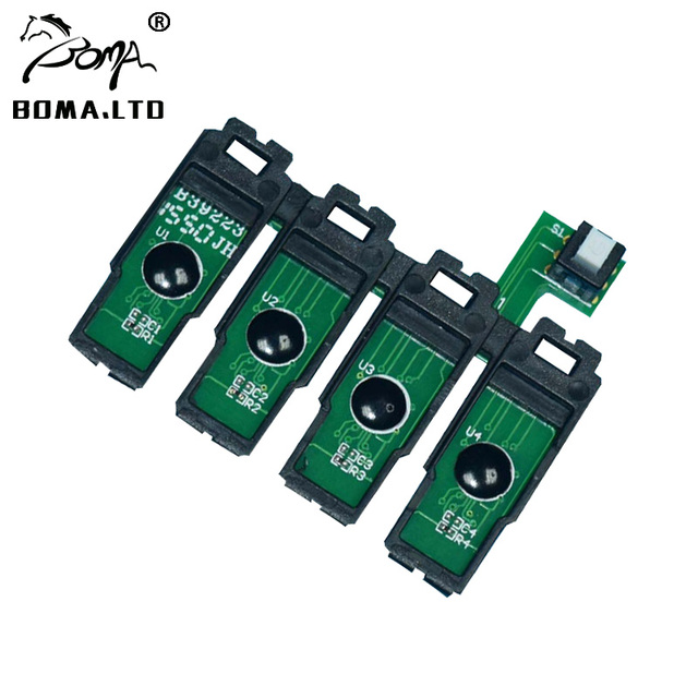 US $16 98 |BOMA LTD 1 Set CISS Reset Cartridge Chip For Epson WF 7710 WF  7720 WF 7715 WF 7110 WF 7610 WF 7620 WF 3620 WF 3640 Printer-in Printer  Parts