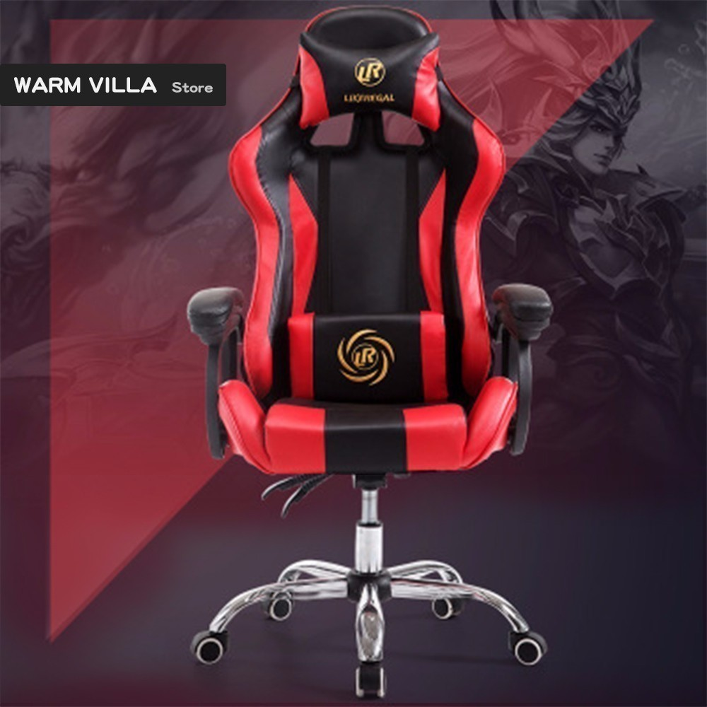 Best Sedia Gaming Game Armchair Computer Gaming Gamer Work Executive Office Furniture Electric Computers Ergonomic Study Synthetic Leather Chair