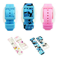 Men And Women Smart Kids Phone Watch Strap Color Silicone Replacement For 360 Badilong Watches Good Quality