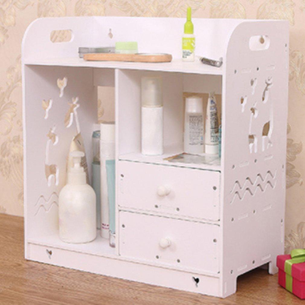 Best Seller Multi Use Wooden Desk Organizer Small Objects Cosmetics