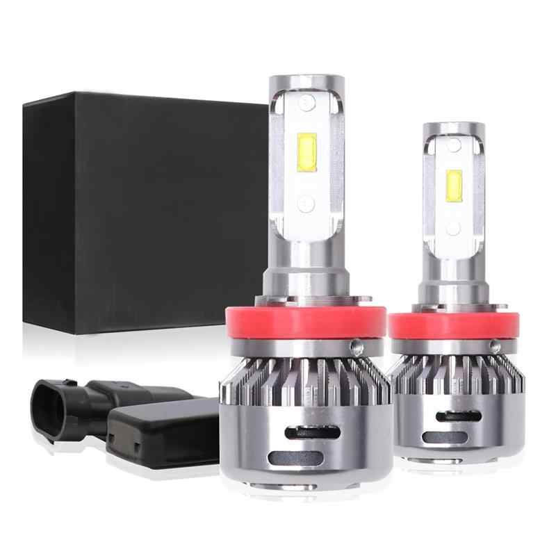 Onever2 Pcs Car Headlight Bulbs 6000K LED Lamp 9012 9006 H4 H7 H11 H1 36W Car Lights Headlights For Automobiles Motorcycles