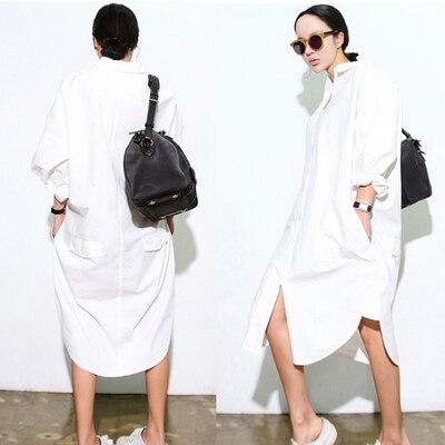 Весенние женские рубашки Звездная модель очень маленькая одежда на пуговицах с карманами блузка белая 3263