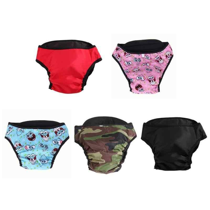 XS-XXL Домашние животные собака физиологические брюки гигиеническая салфетка моющиеся женские шорты для собак трусики менструации нижнее белье трусы комбинезон