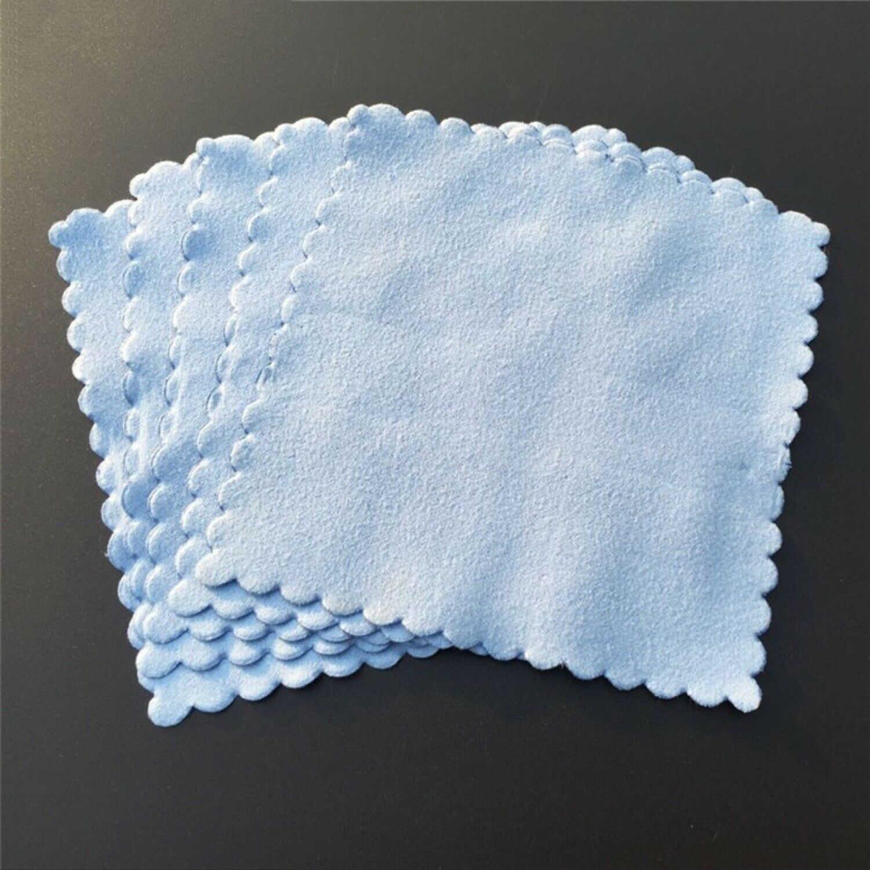 Набор из 20х салфеток из микрофибры для чистки нано керамических автомобильных полотенец с покрытием из стекла