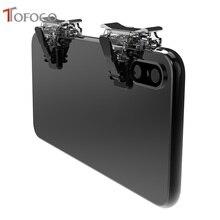 T12 Gaming สำหรับ PUBG โทรศัพท์มือถือ L1R1 นักกีฬาเกมปุ่ม Aim Key สำหรับ PUBG มีด out กฎ of Survival