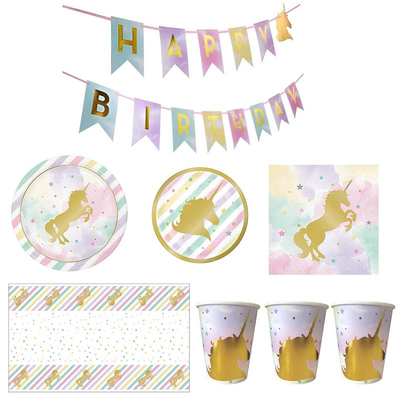 Creative Bronzing Children 39 s Birthday Holiday Party Paper Cups Tableware Arrangement Supplies Props Baby Shower Wedding in Party DIY Decorations from Home amp Garden