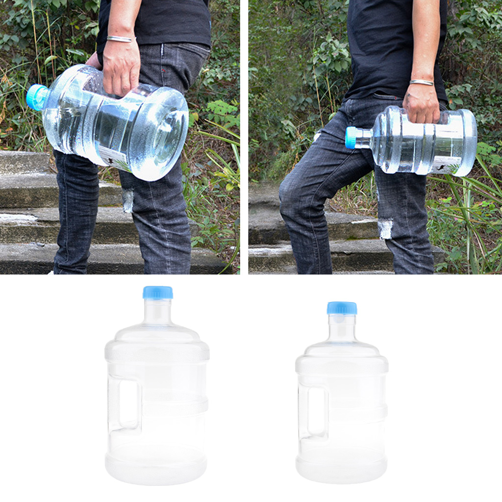 BPA Free Bottle Drinking Water Outdoor Picnic Bucket Camping Water Container Storage in Outdoor Tools from Sports Entertainment