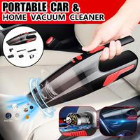 Car Vacuum Cleaner 120W Portable   Auto   Vacuum Cleaner Wet and Dry Car Home Aspirateur Voiture with Accessories