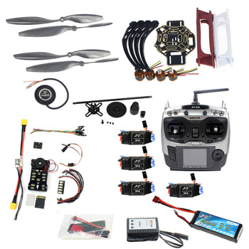F02192-AB DIY FPV Drone Quadcopter 4-axle Aircraft Kit 450 Frame PXI PX4 Flight Control 920KV Motor GPS AT9S Transmitter Props