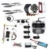 F02192-AB FAI DA TE FPV Drone Quadcopter 4 assi Aereo Kit 450 Telaio PXI PX4 di Controllo di Volo 920KV Motore GPS AT9S trasmettitore Puntelli