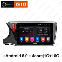 FEELDO 10.1 2.5D Nano IPS Screen Android 6.0 Octa Core/DDR3 2G/32G/4G LTE Car Media Player With GPS/FM/AM For CITY 2015 2017