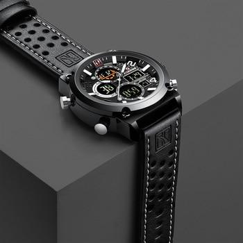 ac6395ae868e De Lujo reloj masculino de los hombres relojes impermeable reloj hombre  Deporte reloj de pulsera para hombre hora de cuarzo militar hombre reloj  2019