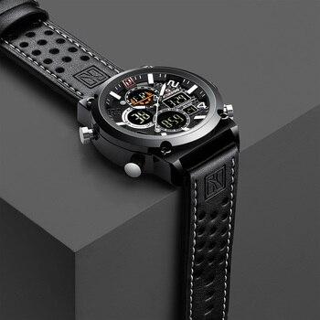 Luxus relogio masculino männer Uhren Wasserdicht reloj hombre Sport Armbanduhr für Herren Stunde Military Quarz Männlichen Uhr 2019