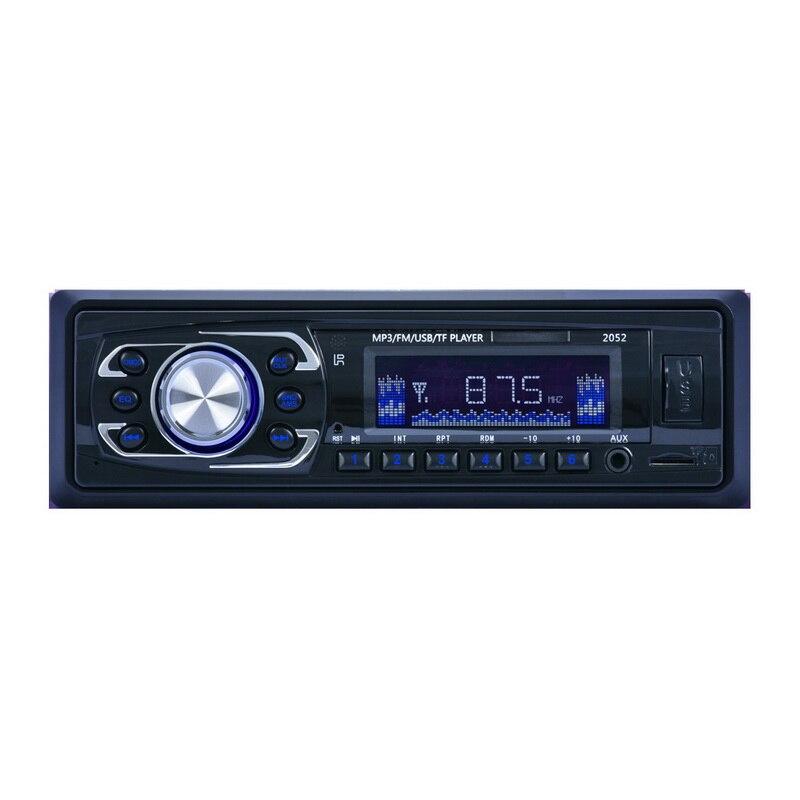 Automobiles & Motorcycles Purposeful 1 Din Car Radio Fm Turner Eq Sound Control Sd Card 12v/24v Power Supply Car Stereo Car Mp3 Player Professional Design Car Radios