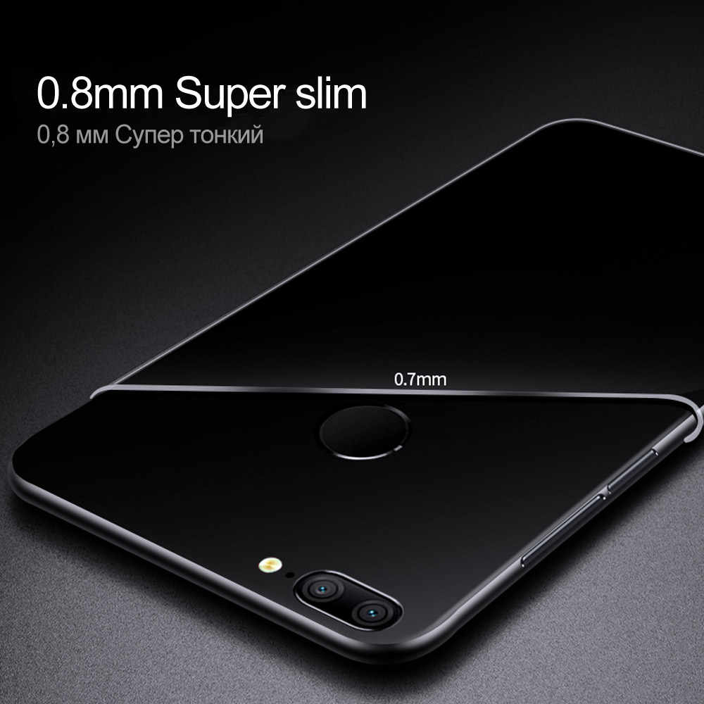 Soft Case For Huawei Honor 8 9 10 Lite Case TPU Silicon Transparent Fitted Clear Bumper Back Cover For Huawei Honor 8 9 10 Case