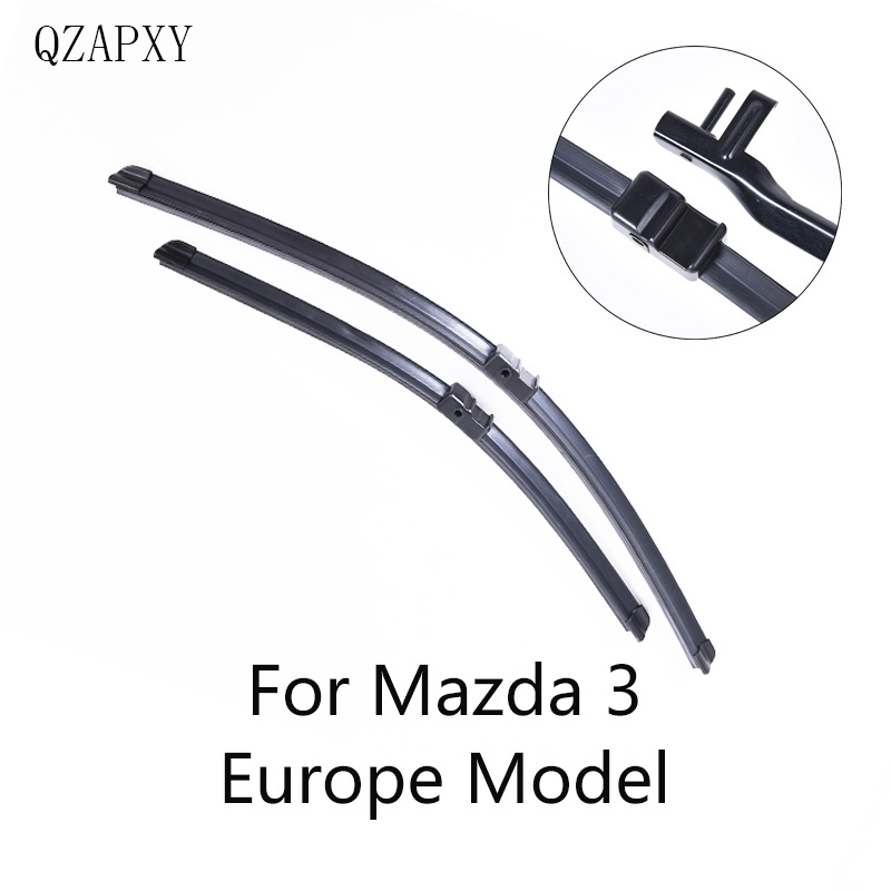 Front and Rear Wiper Blade For <font><b>Mazda</b></font> <font><b>3</b></font> from 2003 <font><b>2004</b></font> 2005 2006 2007 to 2017 Windscreen wiper Wholesale Car Accessories image