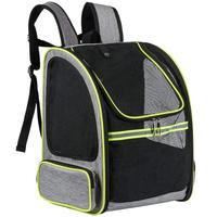 Pet Carrier Backpack For Small Dogs Or Cats Breathable Mesh Puppy Pack For Travel, Hiking, Walking, Cycling & Outdoor Use