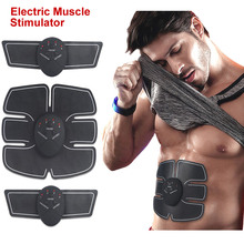 Electric Muscle Stimulator Trainer Smart Fitness Abdominal Training Electric Weight Loss Stickers Body electro electrode EMS все цены