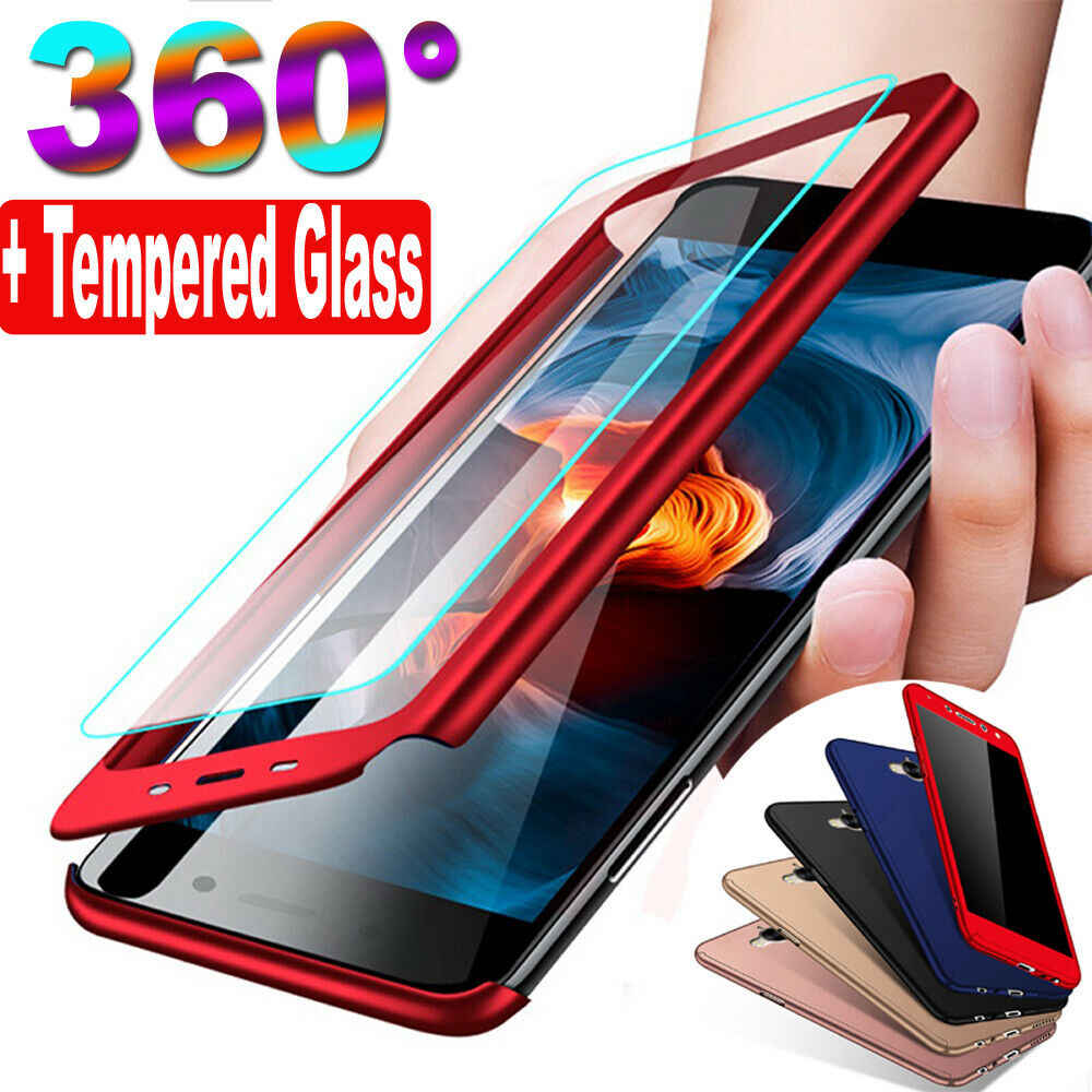 360 Luxury Full Cover Case For Huawei P Smart 2019 Nova 3i Case Glass For Huawei P20 Mate 20 Lite Phone Case On Honor 7A 7C 5.7