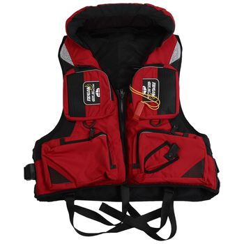 Ayuda a la flotabilidad ajustable para adultos DSGS, chaleco salvavidas para navegación y pesca, chaleco salvavidas para kayak