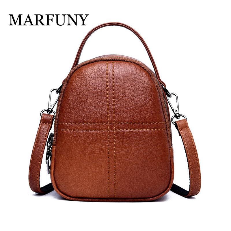 Мини маленькие рюкзаки для девочек-подростков Для женщин рюкзак дамы сумки на ремне на молнии из искусственной кожи маленький женский рюкз...