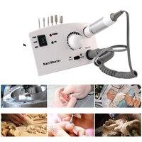 30000rpm Rechargable Professional Electric Nail Art Drill Pen Pen Shape Pedicure Nail Polish Tool Feet Care Manicure Machine