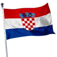 90*150 см Хорватский национальный подвесной флаг из полиэстера Национальный флаг, открытый Крытый большой флаг для праздника украшения дома