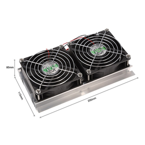 Image 5 - 200 x 118 x 95mm 120W Thermoelectric Peltier Refrigeration Semiconductor Cooling System Kit Double Fan